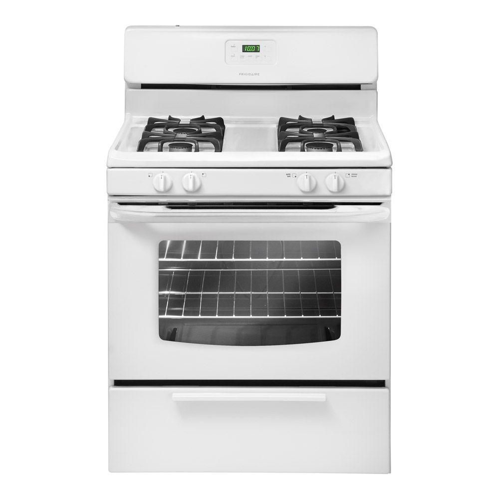 4.2 cu. ft. 30-inch Free-Standing Gas Range in White