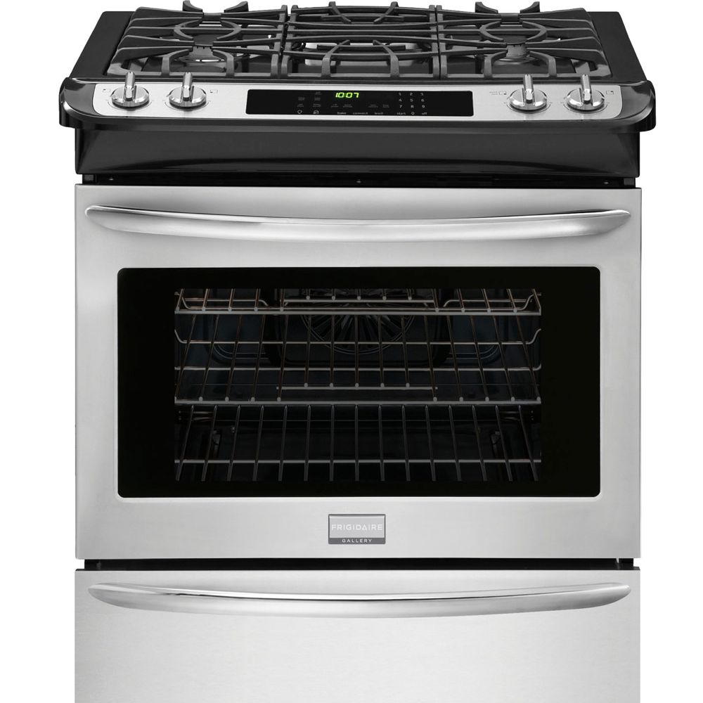 4.2 cu. ft. 30-inch Self-Cleaning Free-Standing Gas Range in Smudge proof Stainless Steel