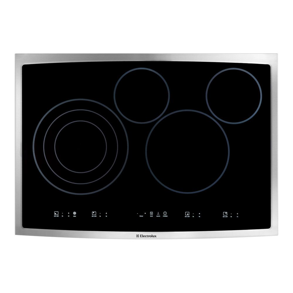 30-inch Smooth Surface Electric Cooktop in Stainless Steel