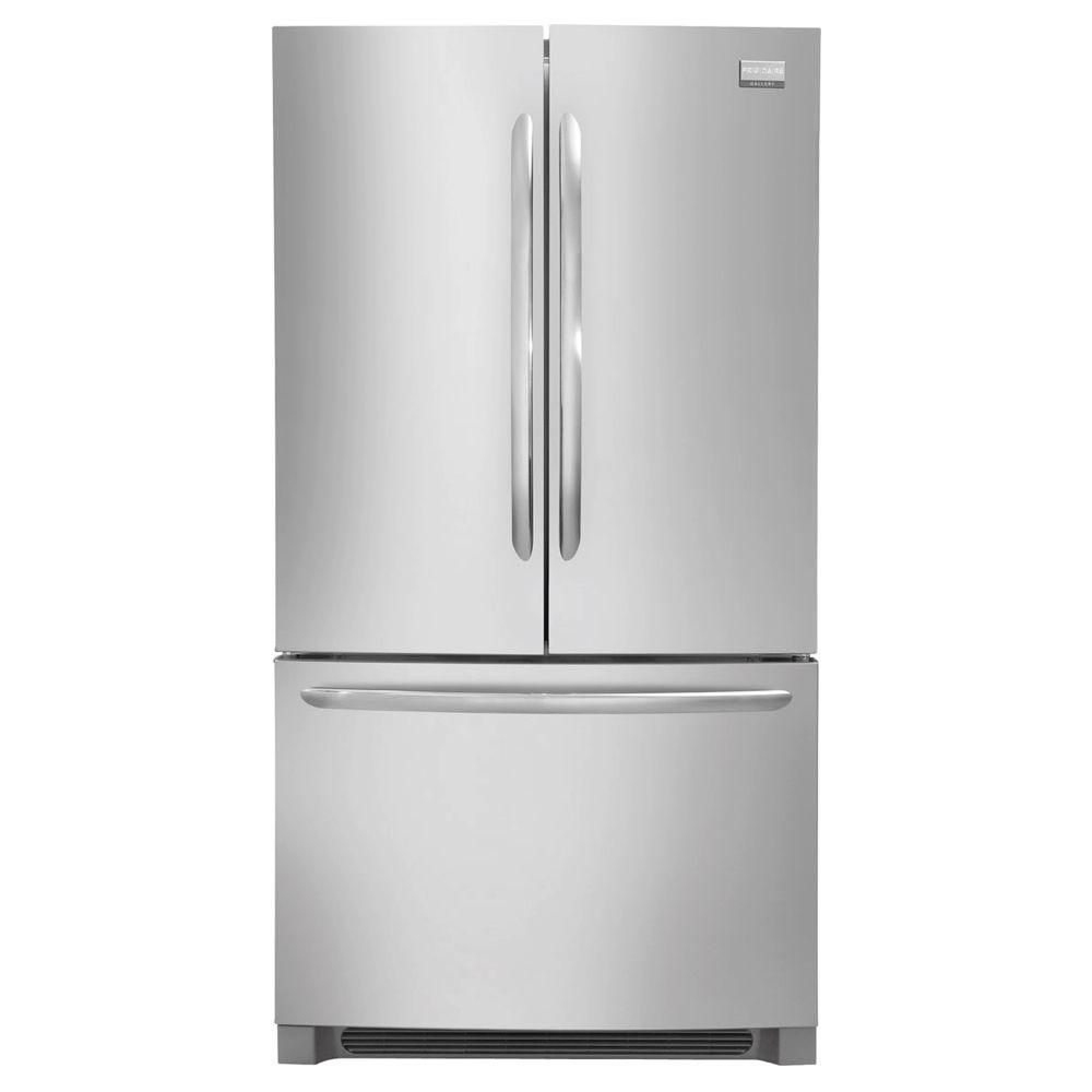 Counter Depth Fridge Dimensions Frigidaire Gallery 23 cu. ft. Counter-Depth French Door ...