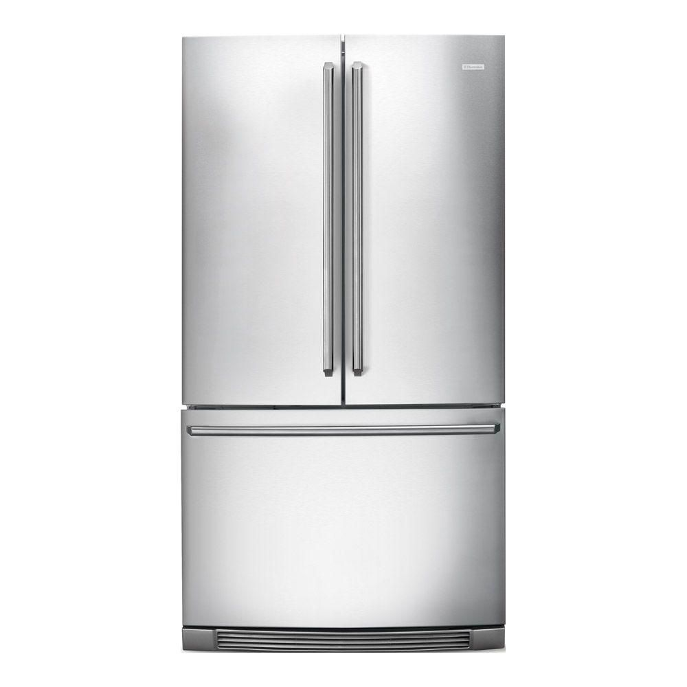23 cu. ft. Counter-Depth French Door Refrigerator with Introductory IQ in Stainless Steel