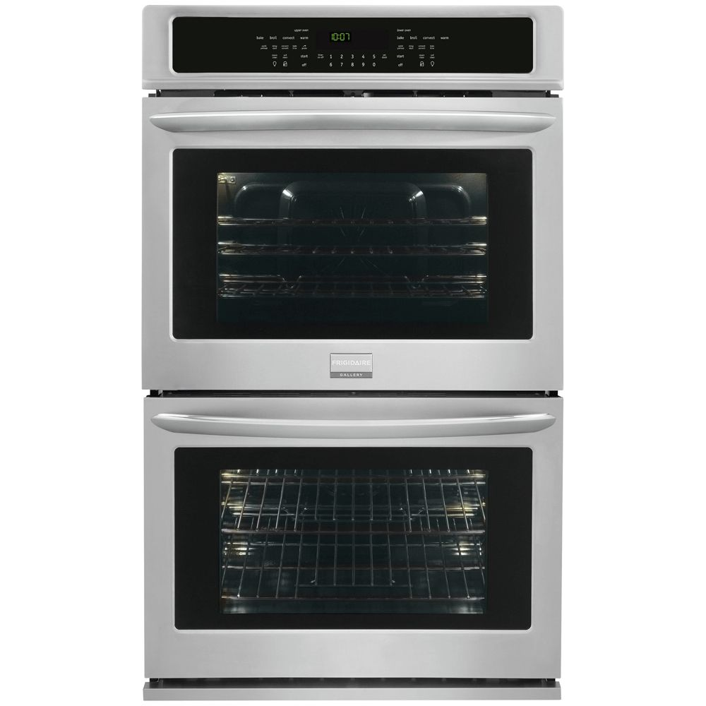 Gallery 4.6 cu. ft. Double Electric Wall Oven in Stainless Steel