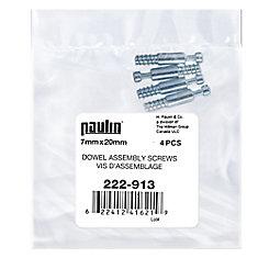 7 mm X 20 mm Dowel Assembly Screw