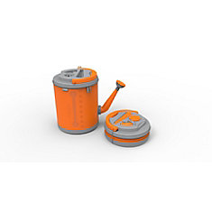 Colpaz Collapsible Watering Can in Juicy Orange