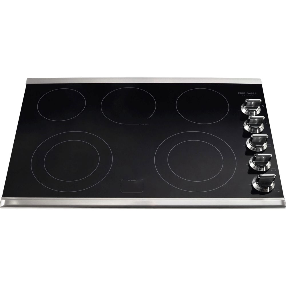 30-inch Drop-In Electric Cooktop in Stainless Steel