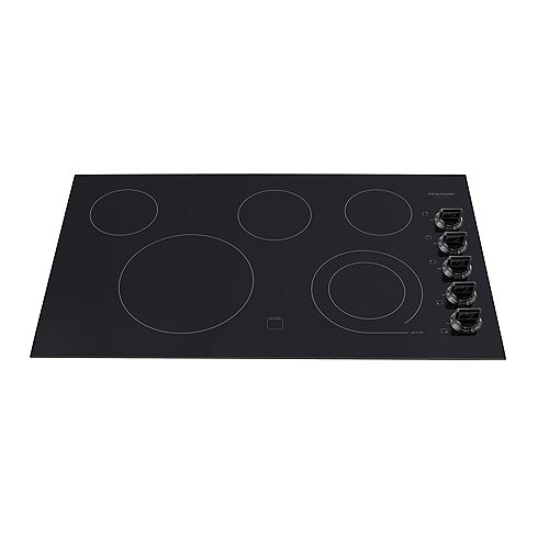 Frigidaire Gallery 36-inch Radiant Electric Cooktop in Black with 5 Elements