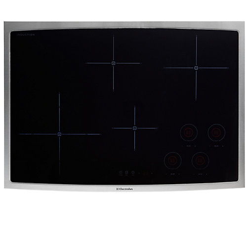30-inch Smooth Surface Induction Cooktopwith 4 Elements in Stainless Steel
