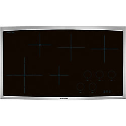 Electrolux 36-inch Smooth Surface Induction Cooktop with 5 Elements in Stainless Steel