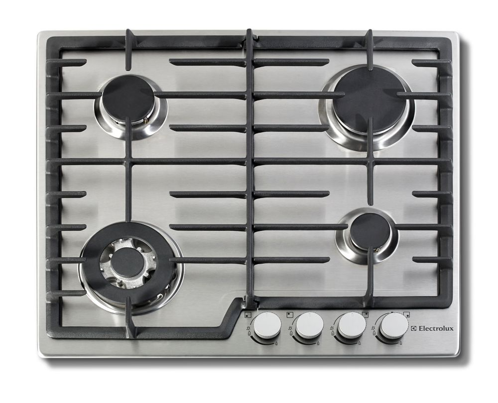 24-inch Gas Cooktops in Stainless Steel