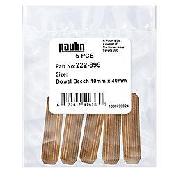 Paulin 10 mm X 40 mm Dowel Beach