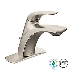 single hole bathroom faucets. Zarina Single Hole 1-Handle Low Arc Bathroom Faucet In Brushed Nickel With Lever Handle Faucets