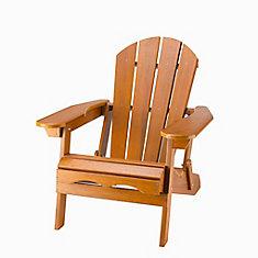 Cedar Adirondack Folding Chair