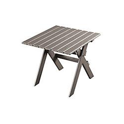 Eon Muskoka Patio Side Table in Grey
