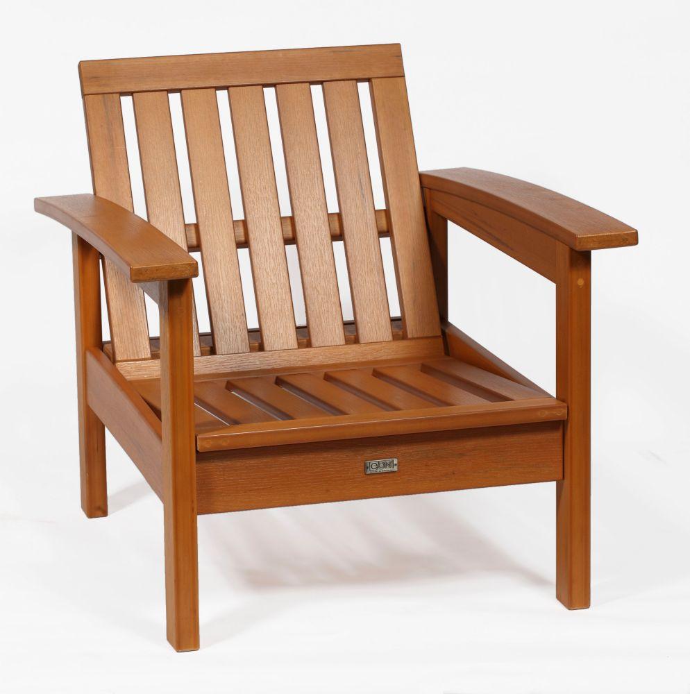 Teak Deep Seating Chair Frame