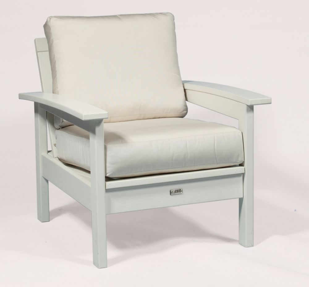 Deep Seating Patio Chair Frame in White