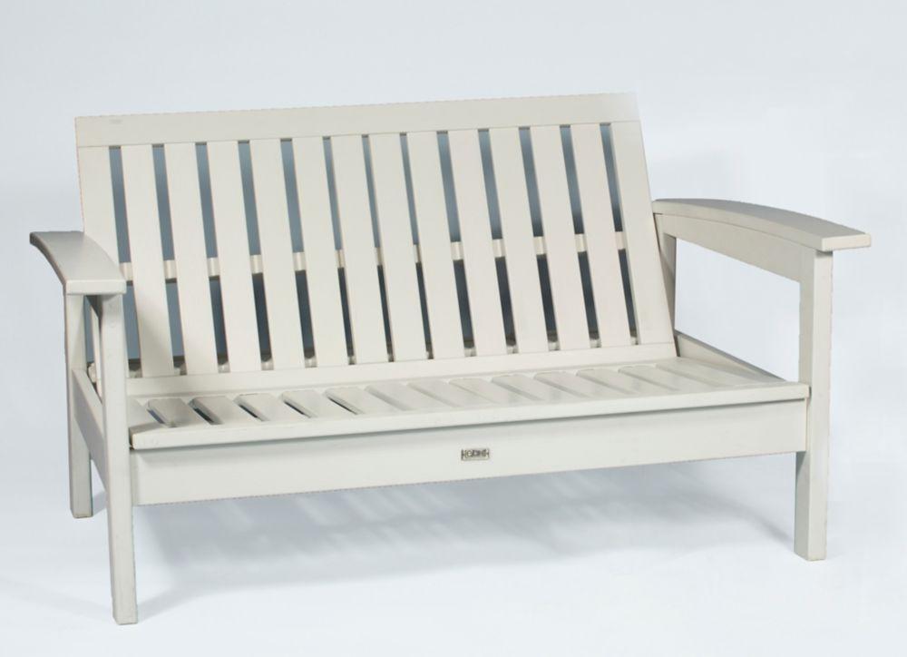 WhiteDeep Seating Loveseat Frame