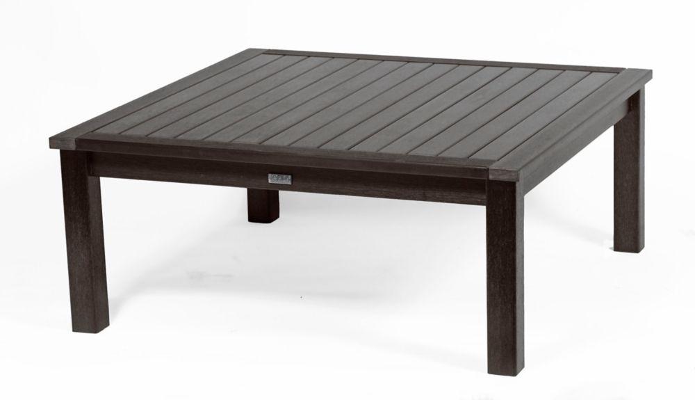 Espresso Deep Seating Coffee Table-Square