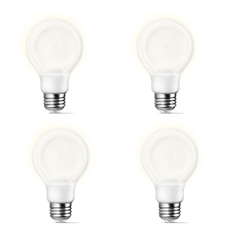 LED 7W 40W A-Line (A19) SlimStyle Daylight (5000K) - Case of 4 Bulbs 433177 Canada Discount