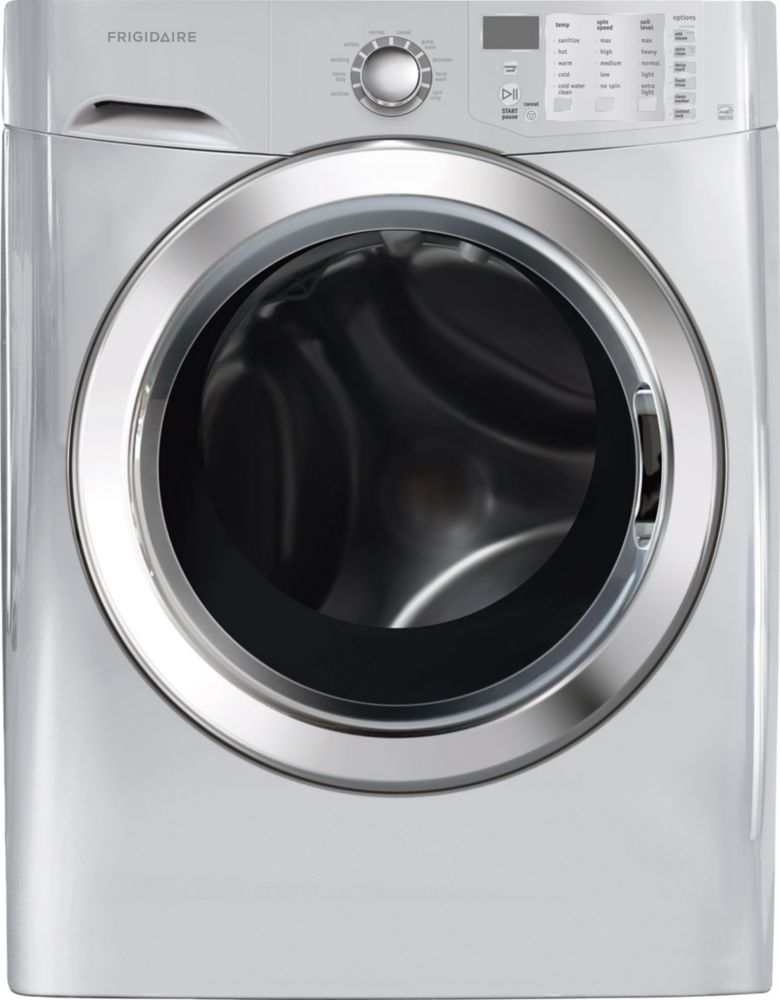 4.5 cu. ft. Front Load Steam Washer in Silver