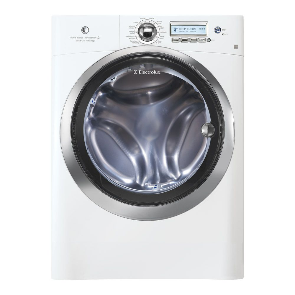 5.1 cu. ft. Front Load Washer with Wave-Touch Control in White