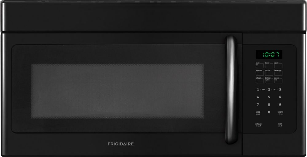 1.6 cu. ft. Over-the-range Microwave with Fits-More�  Capacity in Black