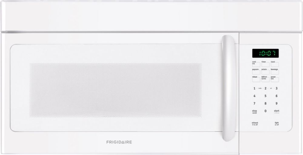 1.6 cu. ft. Over-the-range Microwave with Fits-More�  Capacity in White