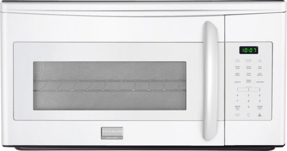 1.7 cu. ft. Over-the-range Microwave with SpaceWise� Rack in White