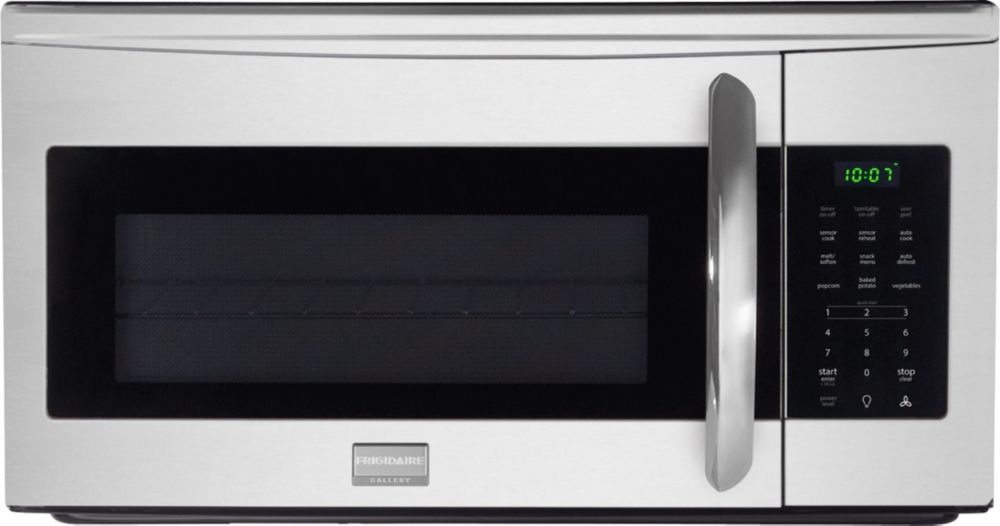 1.7 cu. ft. Over-the-range Microwave with SpaceWise� Rack in Stainless Steel