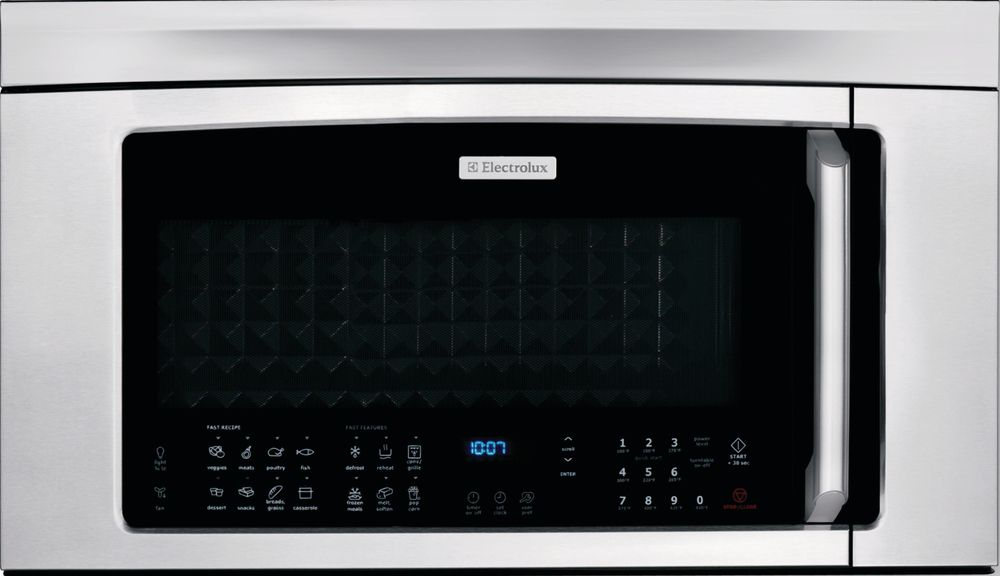 Electrolux 2 0 Cu Ft Over The Range Microwave With