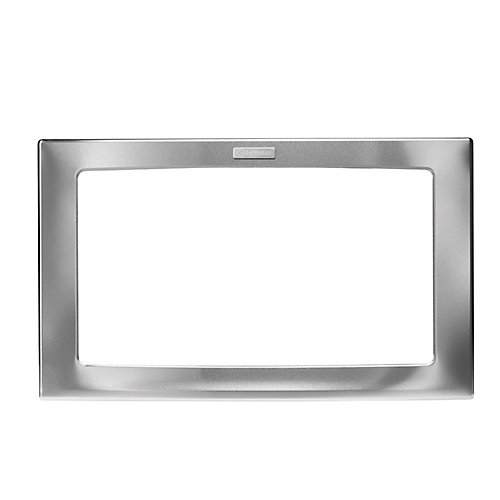 30-inch Trim Kit for Built-In Microwave Oven in Stainless Steel