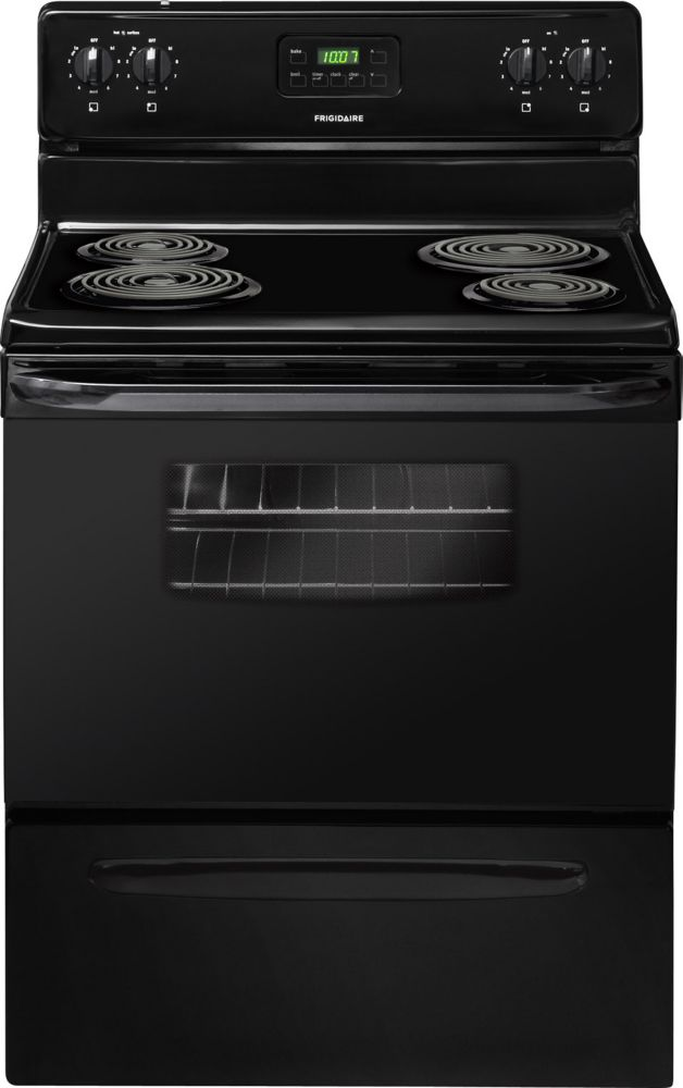 4.8 cu. ft. Electric Range in Black