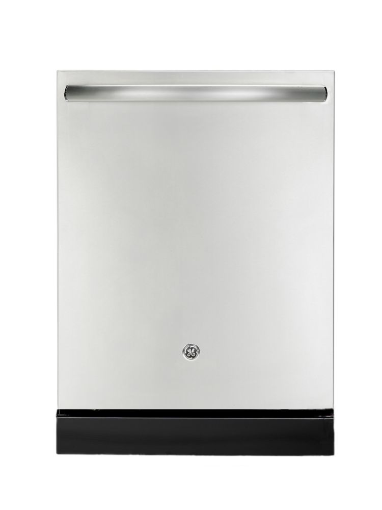 Ge 24 inch built in tall tub dishwasher in stainless steel for 24 inch built in microwave stainless steel