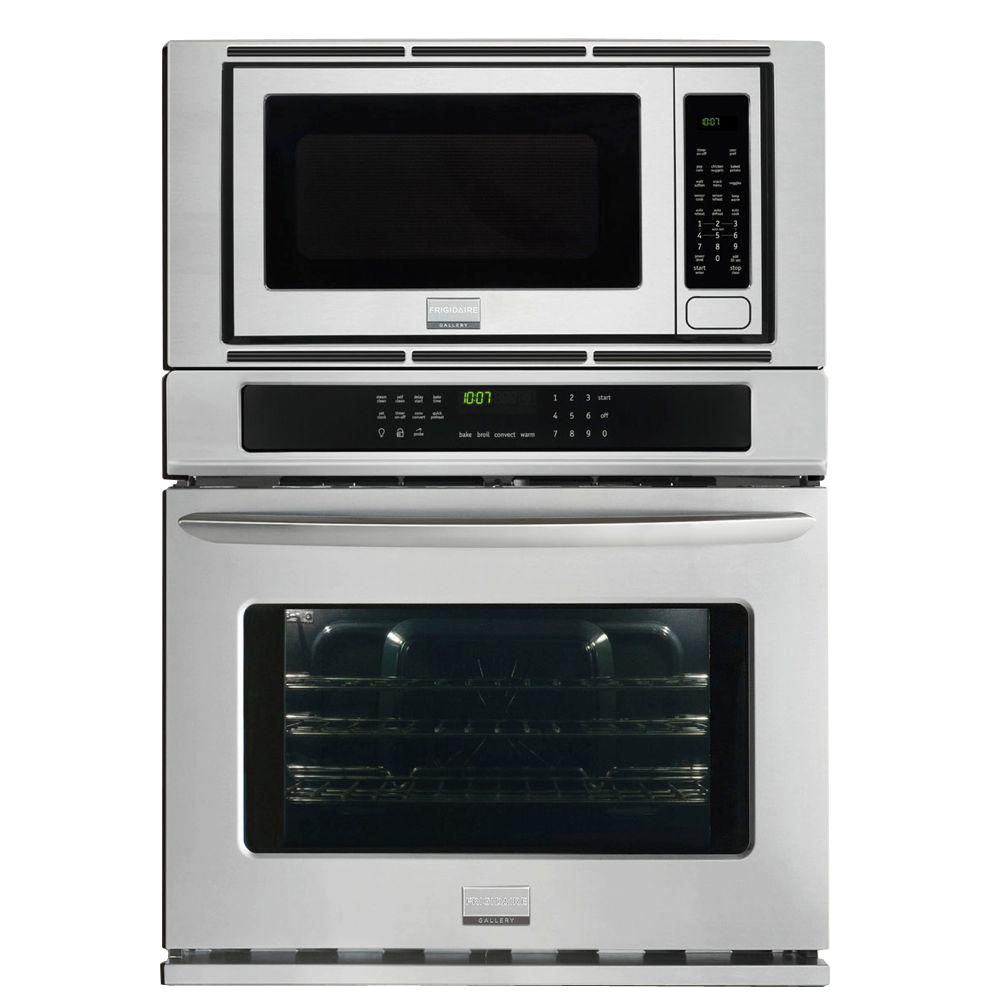 Frigidaire gallery gallery 4 4 cu ft 30 inch electric for Built in microwave ovens 30 inch