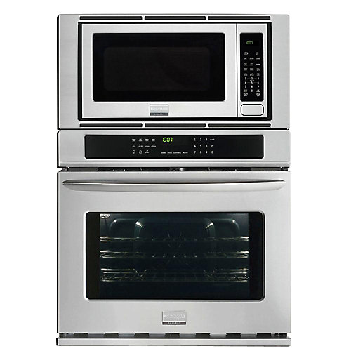 Gallery 4.4 cu. ft. 30-inch Electric Wall Oven with Built-In Microwave in Stainless Steel