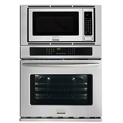 Frigidaire Gallery 4 Cu Ft 30 Inch Electric Wall Oven With Built In Microwave Stainless Steel The Home Depot Canada