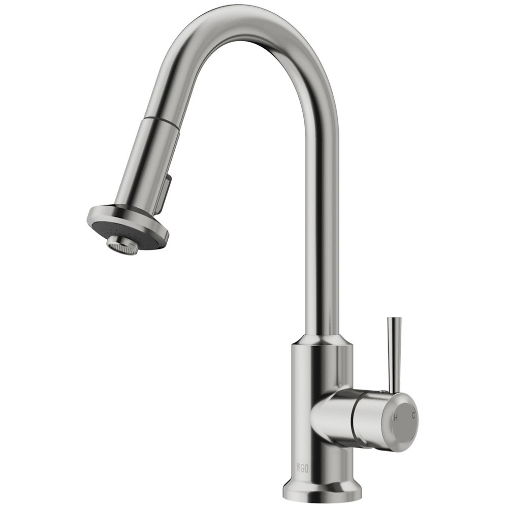 Stainless Steel Pull-Out Spray Kitchen Faucet