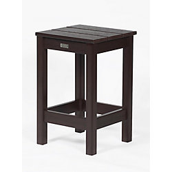Eon Milan Patio Stool in Teak