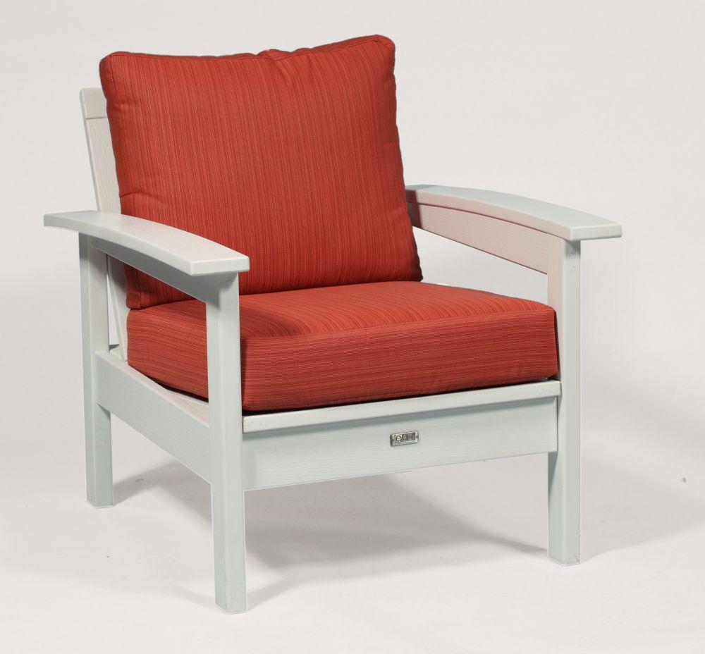 Deep Seating Cushion Set in Papaya