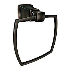 Boardwalk Towel Ring in Mediterranean Bronze