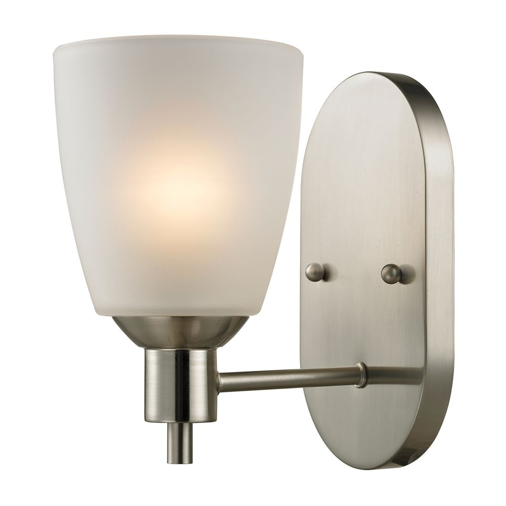 1 Light Wall Sconce In Brushed Nickel With Led Option TN-95434 in Canada
