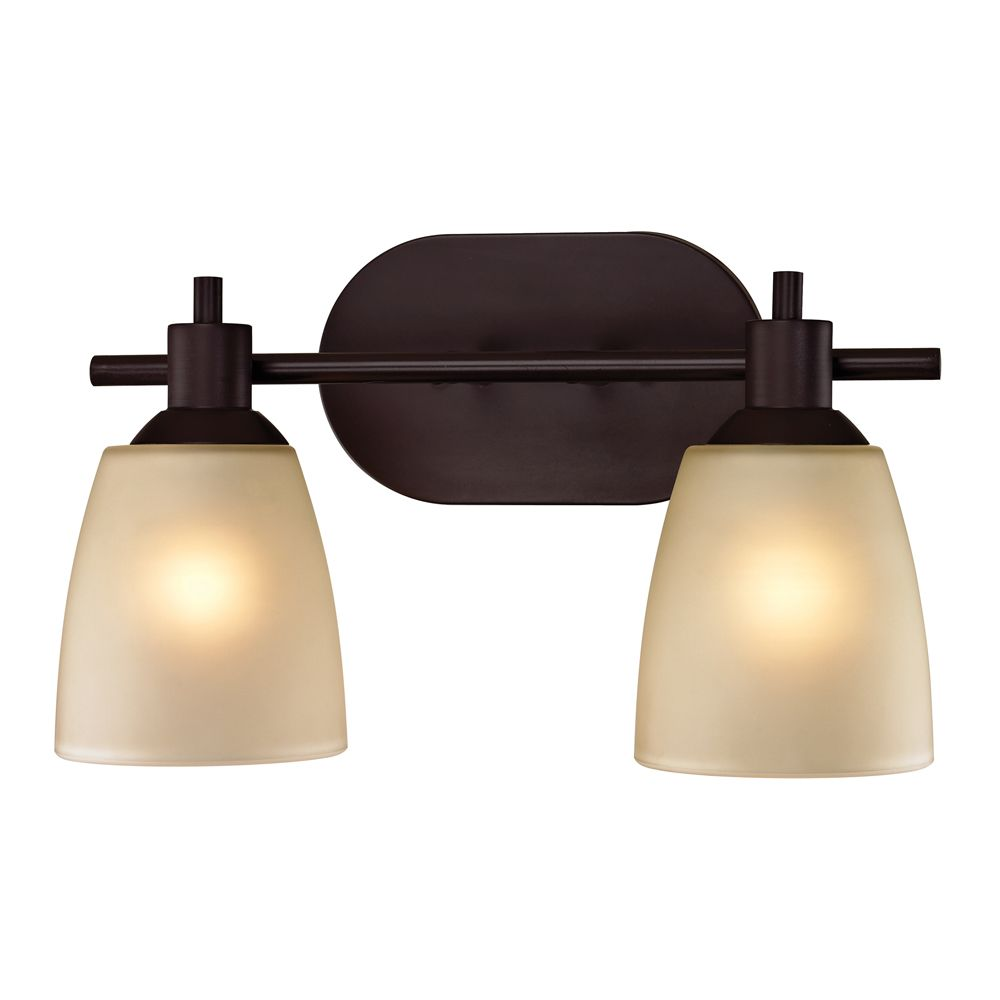 2 Light Bath Bar In Oil Rubbed Bronze TN-50075 Canada Discount