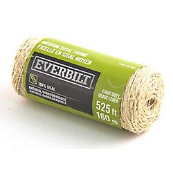 Everbilt MEDIUM x 525 Feet  SISAL FICELLE