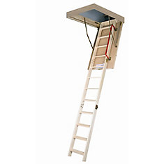 attic ladder wooden insulated lwp 22 12x47 300 lbs 8 ft11 in