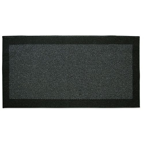Lanart Rug Element Black 2 ft. x 4 ft.  Indoor Rectangular Accent Mat