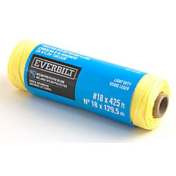 Everbilt 18 x 425 Feet TWISTED MASON LINE GOLD