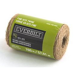 Everbilt FINE x 190 Feet  JUTE FICELLE NATUREL