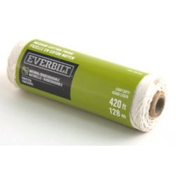 Everbilt MEDIUM x 420 Feet  FICELLE DE COTON