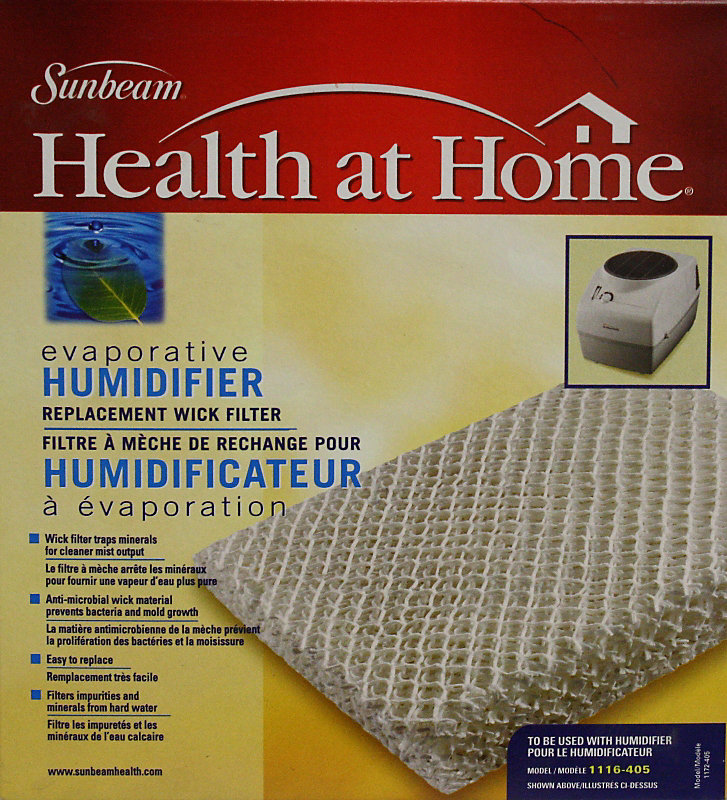 Health at Home Evaporative Wick Replacement Filter