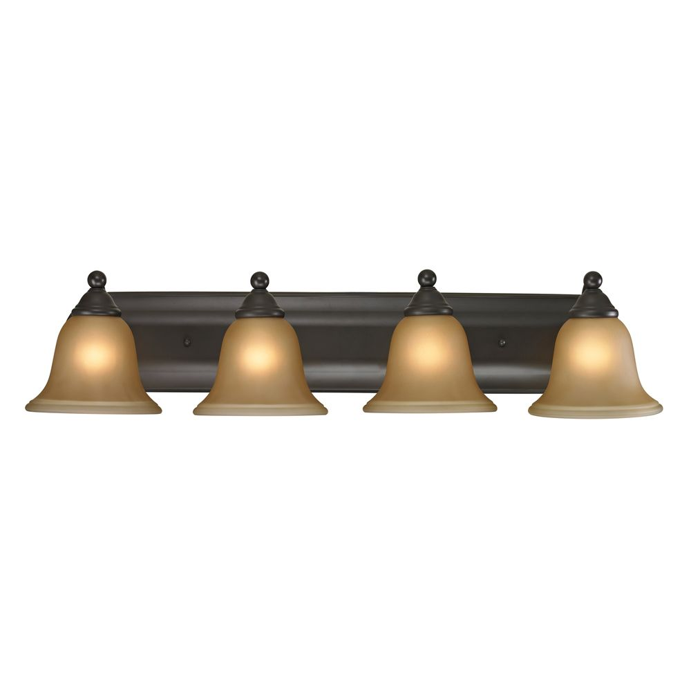 4 Light Bath Bar In Oil Rubbed Bronze With Led Option