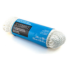 3/8-inch x 100 Feet NYLON TWISTED WHITE